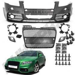 PARA-CHOQUES FRONTAL LOOK RS4 AUDI A4 B7